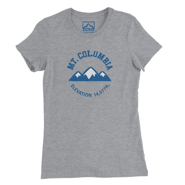 Mount Columbia Women's Tee - All Peak