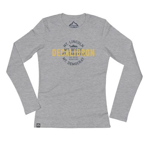 DeCaLiBron Women's Tee - All Peak
