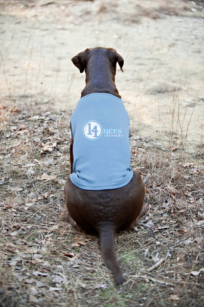 Colorado 14ners Doggie Tank - Blue - All Peak