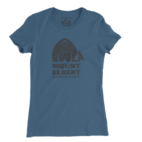 Mount Elbert Women's Tee - All Peak