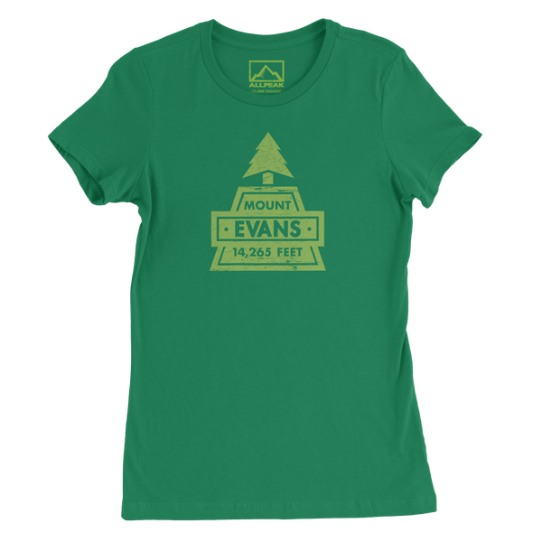 Mount Evans Women's Tee - All Peak