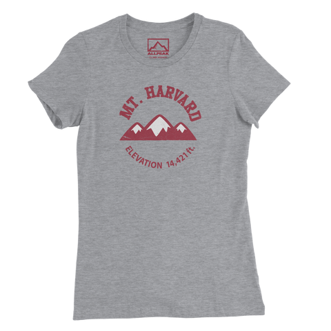 Mount Harvard Women's Tee - All Peak