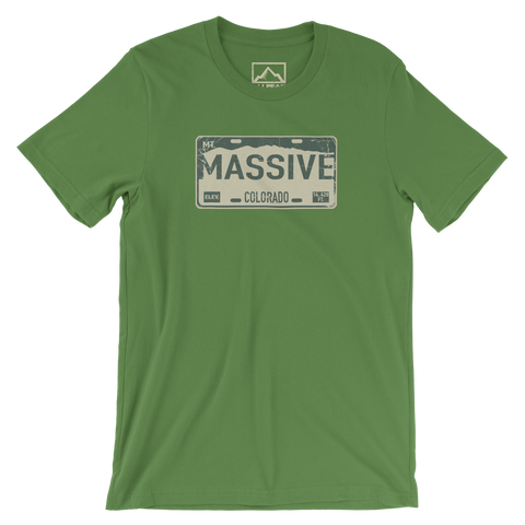 Mount Massive Front of Shirt
