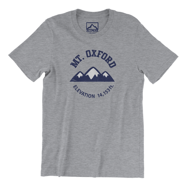 Mount Oxford Front of Shirt
