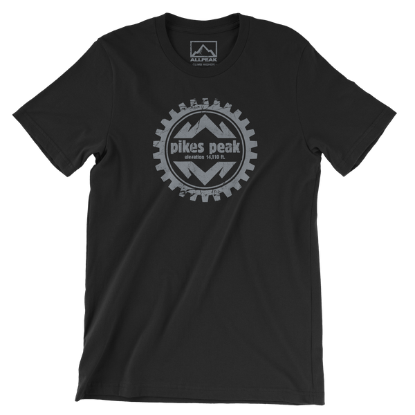 Pikes Peak front of Shirt