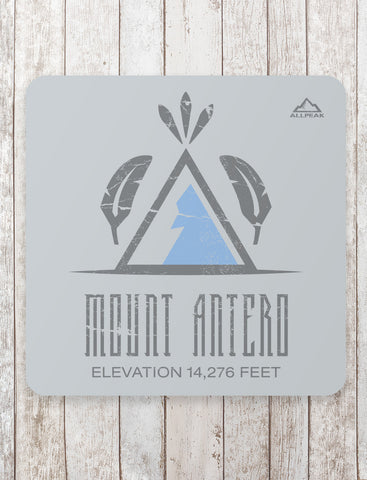 Mount Antero Sticker - All Peak