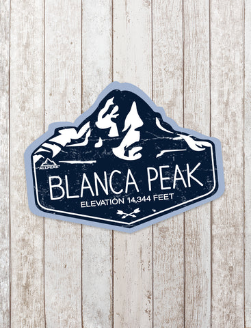 Blanca Peak Sticker - All Peak