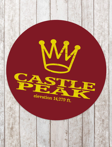Castle Peak Sticker - All Peak