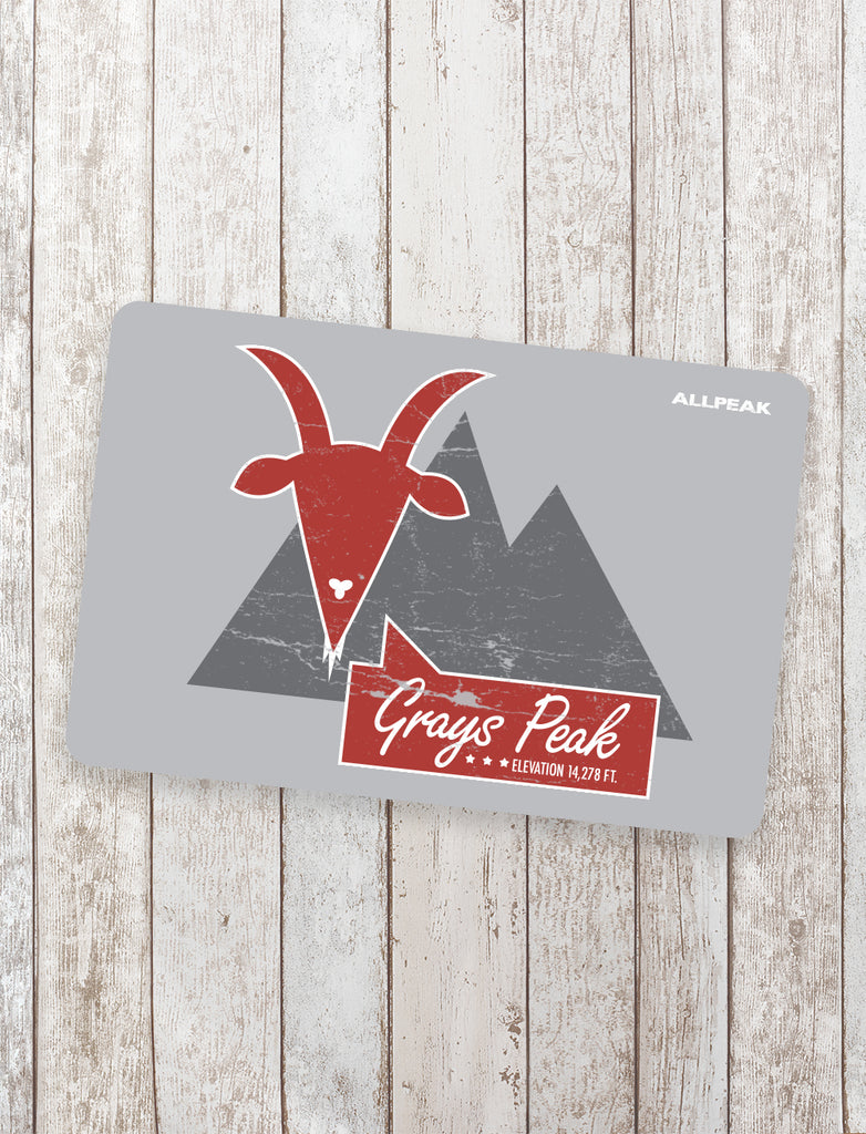 Grays Peak Sticker