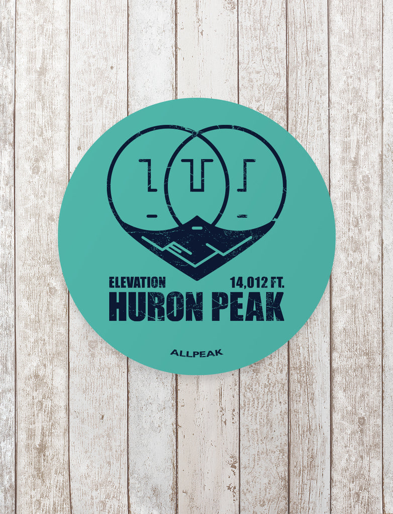 Huron Peak Sticker