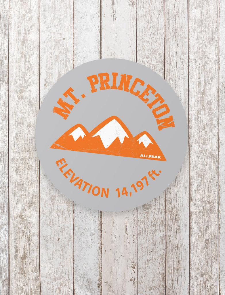 Mount Princeton Sticker