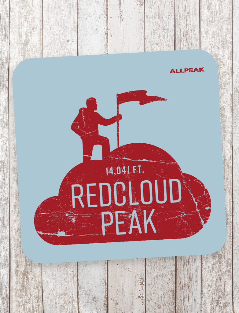 Redcloud Peak Sticker