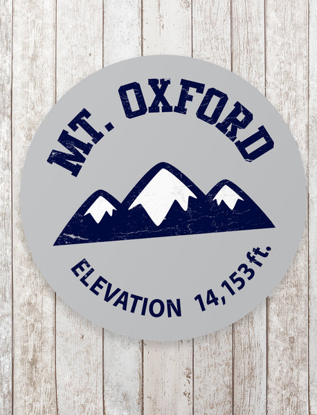 Mount Oxford Sticker - All Peak