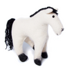 Black and White pony