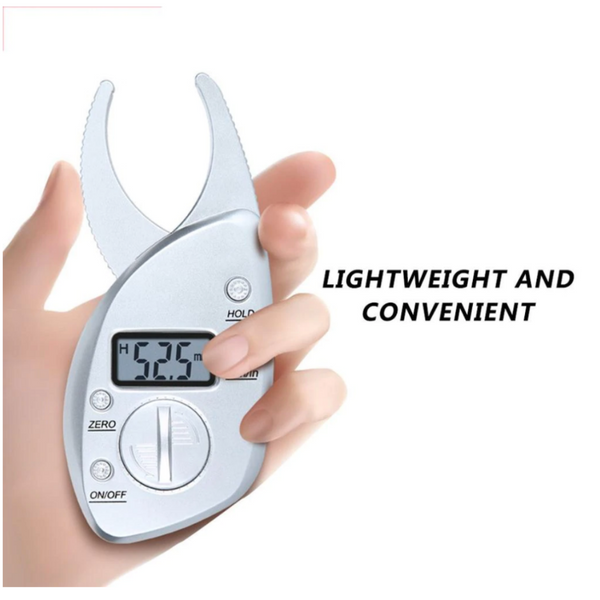 DIGITAL BODY FAT CALIPER | MEASURE YOUR BODY FAT % WITH EASE