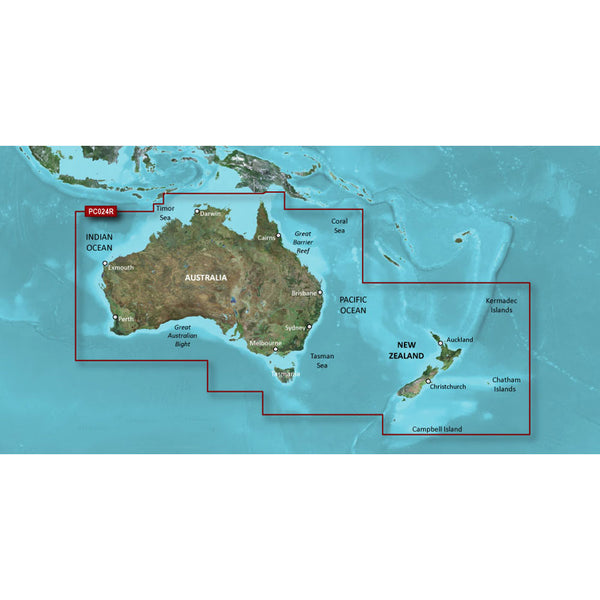 Garmin BlueChart g2 HD - HXPC024R - Australia & New Zealand - microSD/SD [010-C1020-20]