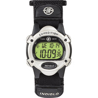Timex Expedition Womens Chrono Alarm Timer - Silver/Black [T47852]