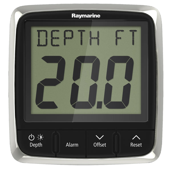 Raymarine i50 Depth Display System w/Thru-Hull Transducer [E70148]