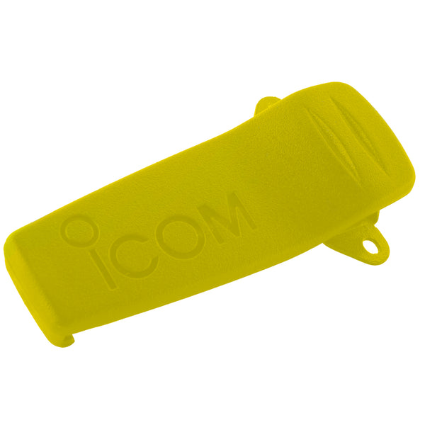 Icom Alligator Belt Clip f/GM1600 - Yellow [MB103Y]