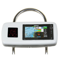 "NavPod GP2040-13 SystemPod Pre-Cut f/Simrad NSS9 evo2 or B&G Zeus 9 & 1 Instrument f/12"" Wide Guard [GP2040-13]"