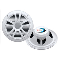 "Boss Audio MR6W 6.5"" Dual Cone Marine Coaxial Speaker (Pair) - 180W - White [MR6W]"