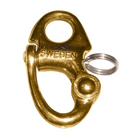 "Ronstan Brass Snap Shackle - Fixed Bail - 59.3mm (2-5/16"") Length [RF6002]"