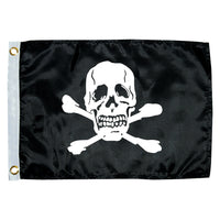 "Taylor Made 12"" x 18"" Jolly Roger Novelty Flag [1818]"