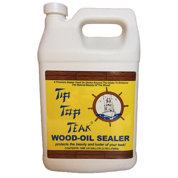 Tip Top Teak Wood Oil Sealer - Gallon [TS 1002]