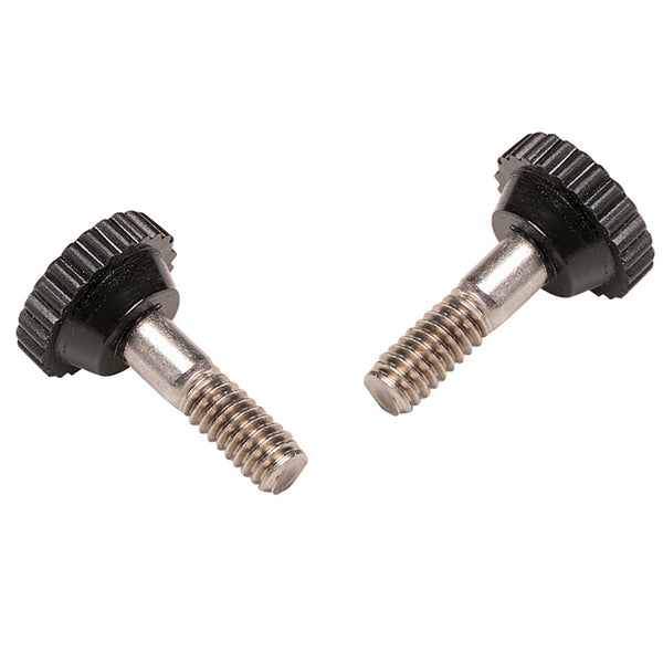 Taylor Made Bimini Hinge Thumb Screws Black - Pair [11736]