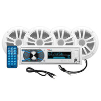 "Boss Audio MCK632WB.64 Package AM/FM Digital Media Receiver; 2 Pairs of 6.5"" Speakers  Antenna [MCK632WB.64]"