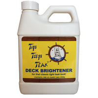 Tip Top Teak Tip Top Teak Deck Brightener - Quart - *Case of 12* [TB 3001CASE]