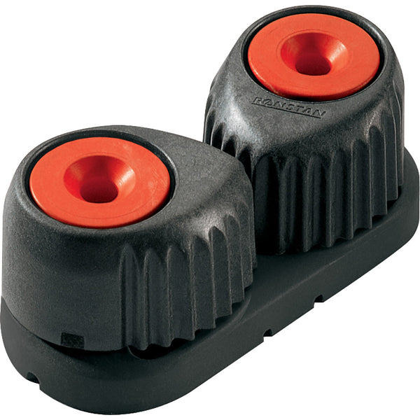 Ronstan Small Alloy Cam Cleat - Red, Black Base [RF5500R]