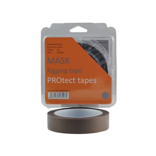 PROtect Mask 50 micron PTFE Grey/S 25mm x 33m