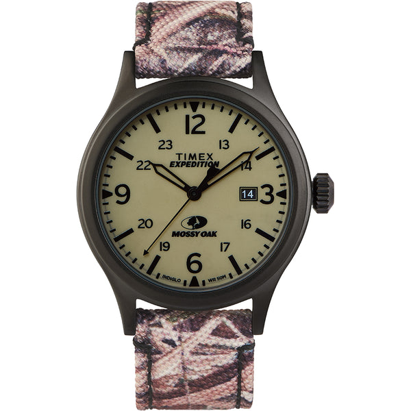 Timex x Mossy Oak Standard - 40mm Case - Light Camouflage [TW2T94700SO]