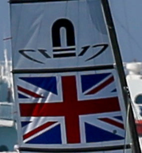 Nacra 17 Sail Flag