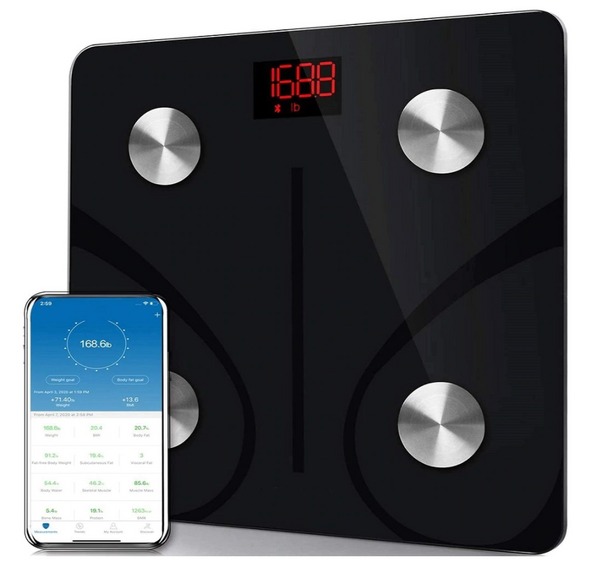 Smart Scale | Bluetooth to Smartphone | BMI & Data Tracking