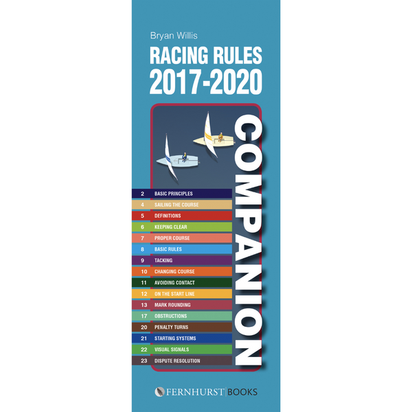 Racing Rules Companion 2017-2020 (Bryan Willis)