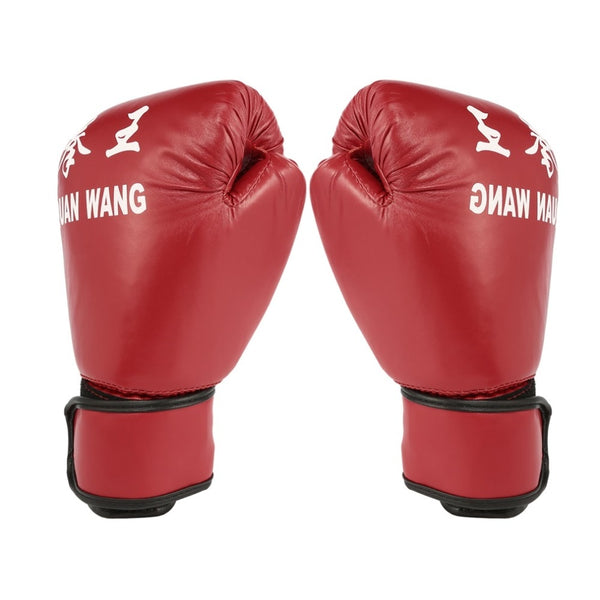Red Adult Boxing Gloves Professional
