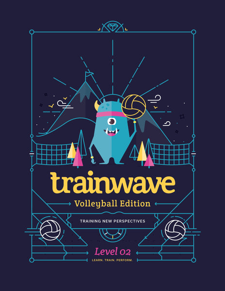 Trainwave Volleyball Edition (10 workbooks)