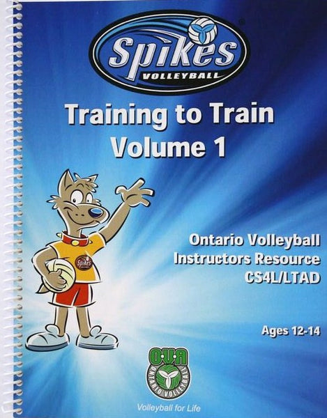 PB-007 SPIKES® - Train to Train Manual Vol. 1 Ages 12-14