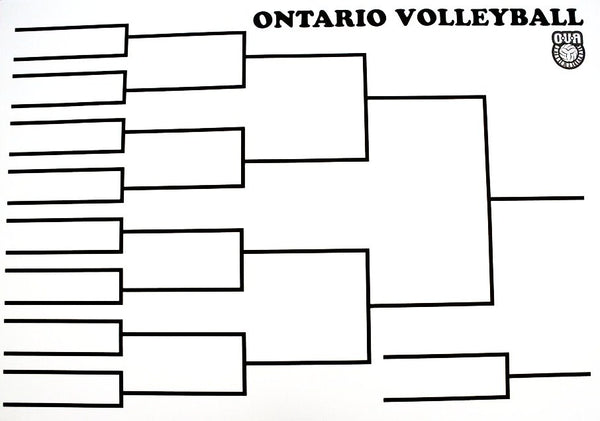 SS-004 OVA Volleyball Playoff Boards
