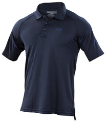 5.11 Logo Performance Short Sleeved Polo Navy