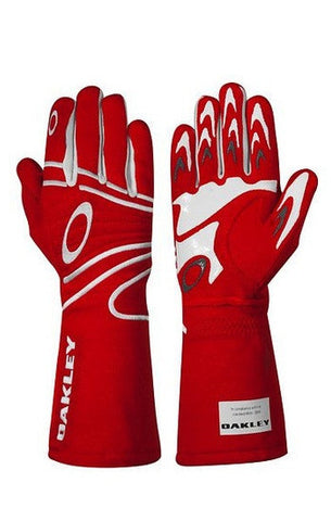 Oakley FR Driving Glove - Red