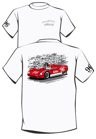 LIMITED EDITION!! Arciero Racing Lotus 19 Tee (White)