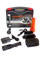PowerTac Warrior Reloaded - 700 Lumens Rechargeable LED Flashlight