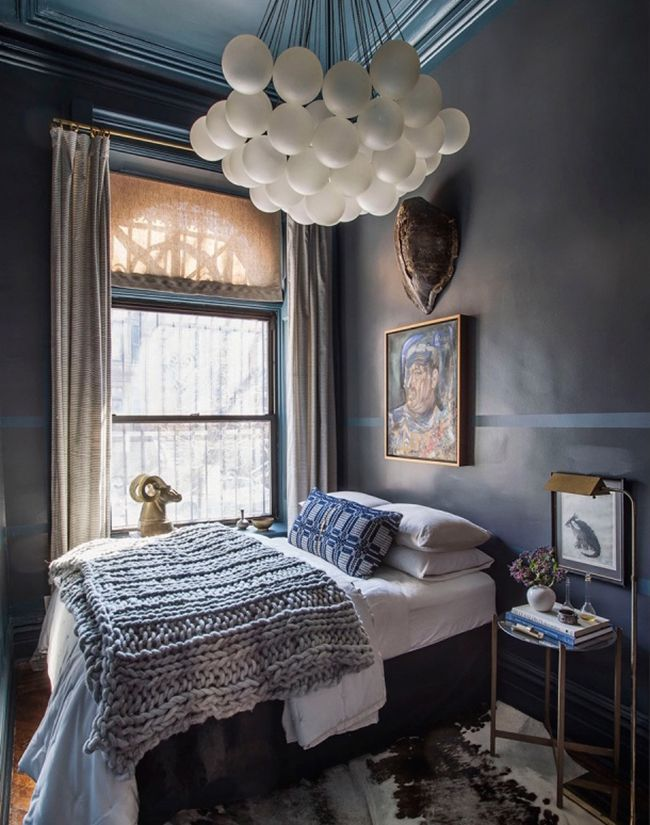 HOW TO MAKE A SMALL BEDROOM LUXE Abigail Ahern - Super small bedroom design
