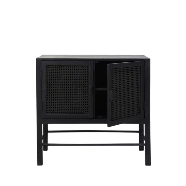 EDMOND CABINET - WIDE - IN ONYX