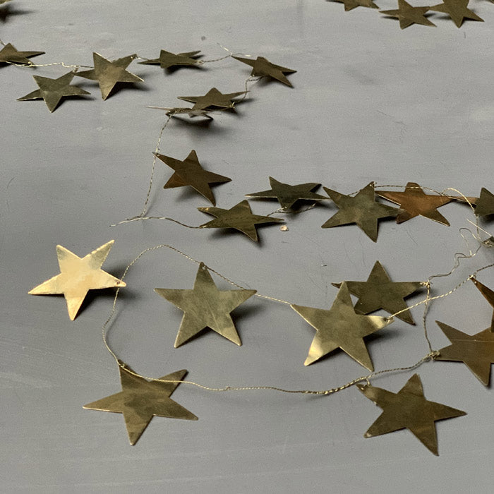 Brass Star Garland (4723270746208)