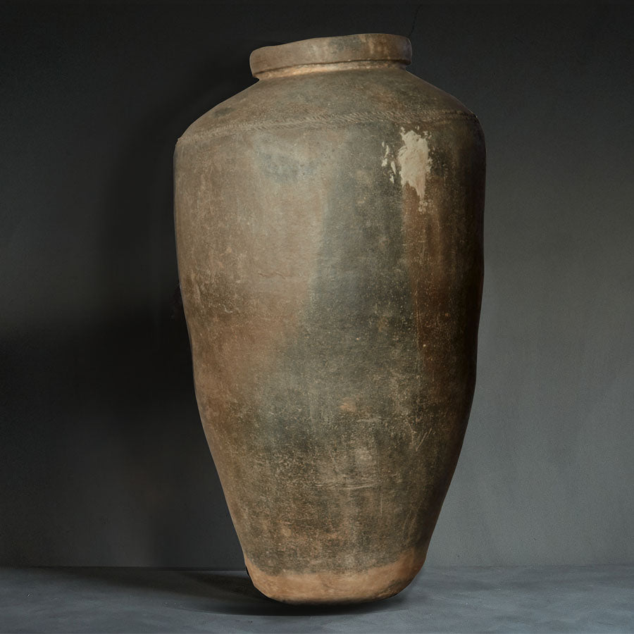 Vintage Clay Pot - Mud (4717589430368)