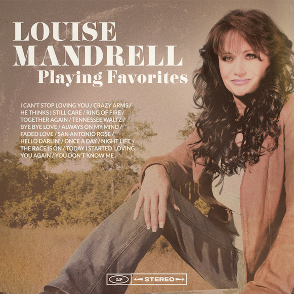 Louise Mandrell - 'Playing Favorites' Autographed CD